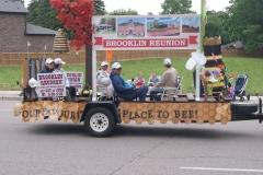 2018 Brooklin Heritage Society Float