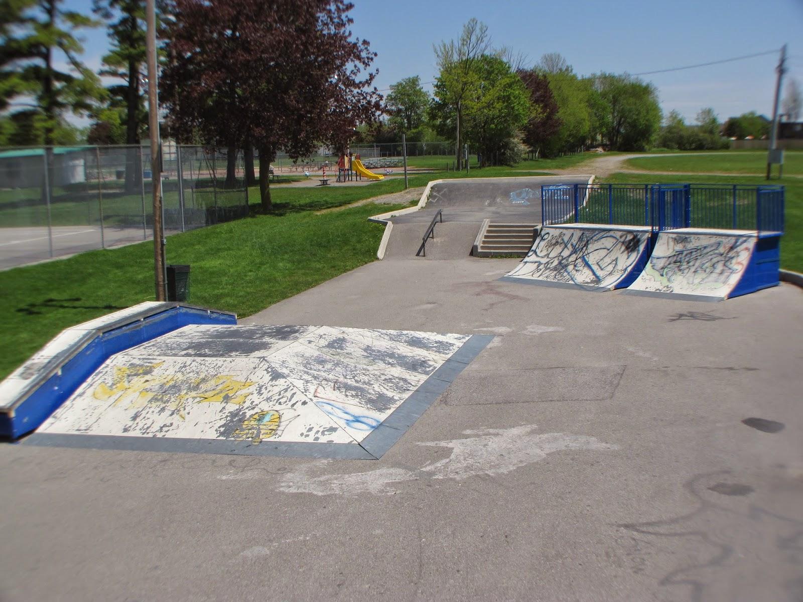 Vipond Arena skatepark