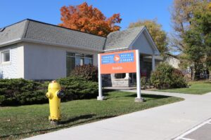 Brooklin post office 1964